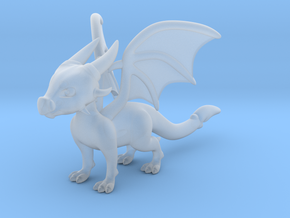 Cynder the Dragon 5cm Tall in Smooth Fine Detail Plastic