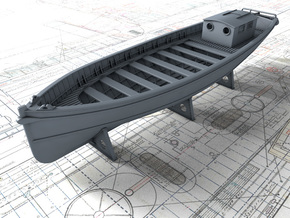1/200 Royal Navy 45ft Motor Launch x1 in Smooth Fine Detail Plastic