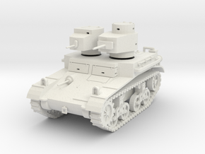 """PV42F M2A2 """"Mae West"""" Light Tank (1/35) in White Natural Versatile Plastic"""