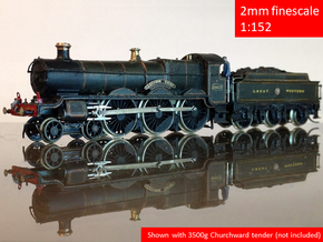 GWR Saint class locomotive, 2mm FS in Smoothest Fine Detail Plastic