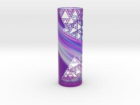 Sierpinski Decorative Vase in Natural Full Color Sandstone