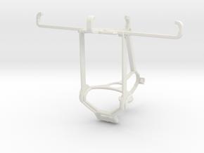 Controller mount for Steam & Xiaomi Redmi 4 Prime  in White Natural Versatile Plastic