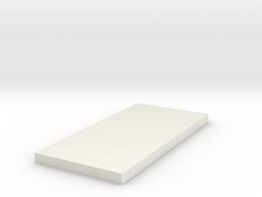 Tie 181 Chest Box Greeblie in White Natural Versatile Plastic