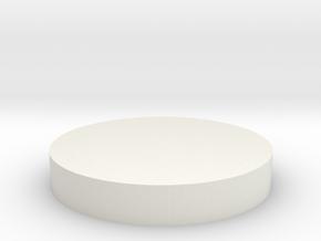 Tie 181 Chest Box Round in White Natural Versatile Plastic