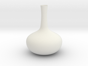 Vase Mod 001 in White Natural Versatile Plastic
