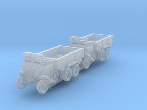 Dovunque 35 truck  1:700x2 in Smooth Fine Detail Plastic
