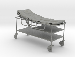 hospital gurney 1:24 scale in Gray Professional Plastic