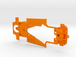PSSA00201 Chassis for Scleauto Porsche 935-77 in Orange Processed Versatile Plastic