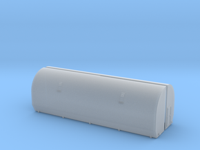 N scale 1/160 SRB Clamshell halves in Smooth Fine Detail Plastic