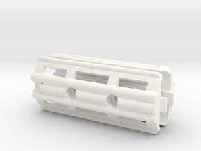Colt c7 c8 handguards in White Processed Versatile Plastic
