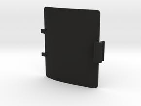 Zoom H6n battery door, cover in Black Natural Versatile Plastic
