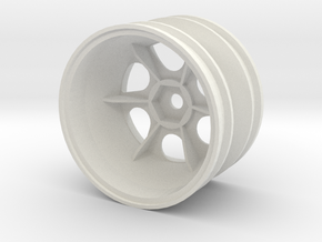 tamiya astute egress left rear wheel in White Natural Versatile Plastic