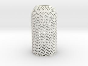 Dome_Penta in White Natural Versatile Plastic
