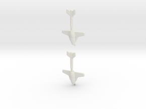 Messerschmitt Libelle in White Natural Versatile Plastic