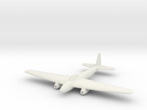 (1:144) Kugisho Tenga Jet Bomber  in White Natural Versatile Plastic