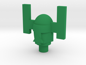 Spartak Sentry Head Only in Green Processed Versatile Plastic