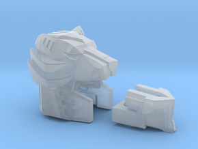 Lavi Assault Force Combiner Head with 5mm port in Smooth Fine Detail Plastic