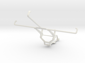 Controller mount for Steam & Lenovo IdeaTab A1000  in White Natural Versatile Plastic