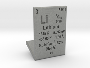 Lithium Element Stand in Gray PA12
