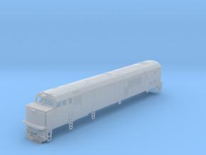 N Scale Amtrak GE P30CH Diesel Loco Body Shell in Smooth Fine Detail Plastic