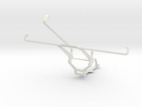 Controller mount for Steam & Xiaomi Mi Pad 7.9 - F in White Natural Versatile Plastic
