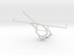 Controller mount for Steam & Xiaomi Mi Pad 2 - Fro in White Natural Versatile Plastic