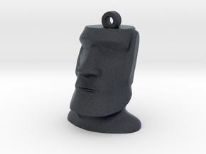Moai Easter Island Head Earring in Black Professional Plastic