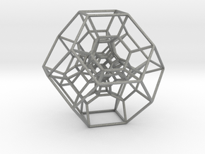 Permutohedron of order 5 (full) in Gray Professional Plastic