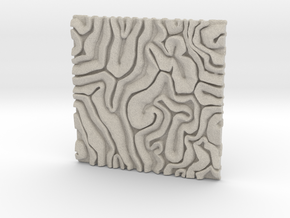 Coral pattern Seamless Decorative miniature  tiles in Natural Sandstone
