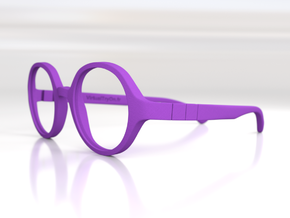 VTO Lunettes Brook in Purple Processed Versatile Plastic