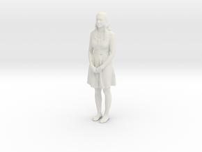 Printle F Alicia Vikander - 1/35 - wob in White Natural Versatile Plastic