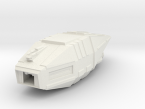 5000 Ton-Falk class Star Wars in White Natural Versatile Plastic