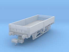 British Rail ZCV Crab ballast wagon - chassis incl in Smoothest Fine Detail Plastic