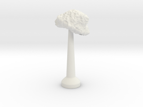 Single Stand 20mm Asteroid 4 in White Natural Versatile Plastic