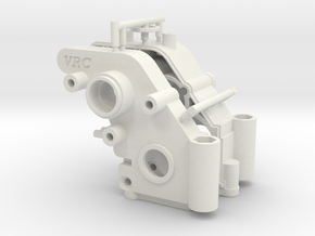 VRC Super Astute Gear Box Replacement in White Natural Versatile Plastic