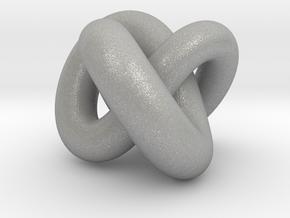 Torus Knot 01 in Aluminum