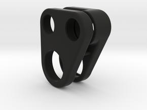 Pont AR Gear Case -Rear Axle in Black Natural Versatile Plastic