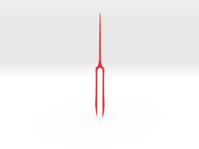 EVA Spear of Longinus (Medium) in Red Processed Versatile Plastic