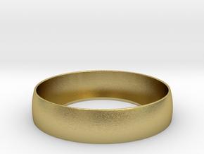 Beauty Ring / Bograt 22mm -- 24mm in Natural Brass