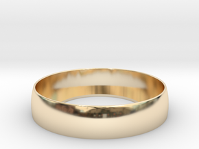 Beauty Ring / Bograt 22mm -- 24mm in 14K Yellow Gold