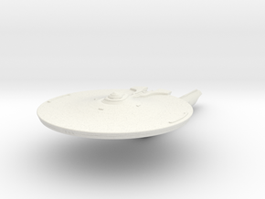 Dawson Class I  Destoyer in White Natural Versatile Plastic