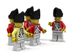 5 x British Grenadier in Black Strong & Flexible