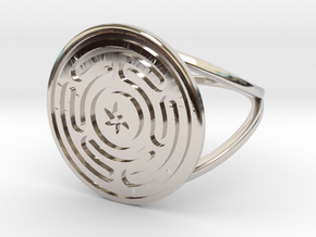 Wheel of Hecate ring in Platinum: 6.25 / 52.125