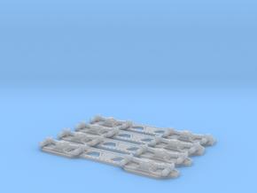 Drehgestellblenden teetrix Triebwagen 1:45 in Smoothest Fine Detail Plastic