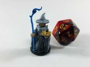 Halfling Divination Wizard in Smooth Fine Detail Plastic