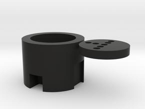 Ahsoka SH Neopixel Adapter in Black Natural Versatile Plastic