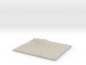 Model of Evros in Natural Sandstone