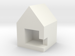 home in White Natural Versatile Plastic