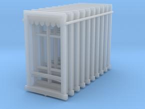 Window - Fenêtre - HO - 1/87 - (x10) in Smooth Fine Detail Plastic