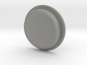 TLF# - Calm Button in Gray Professional Plastic